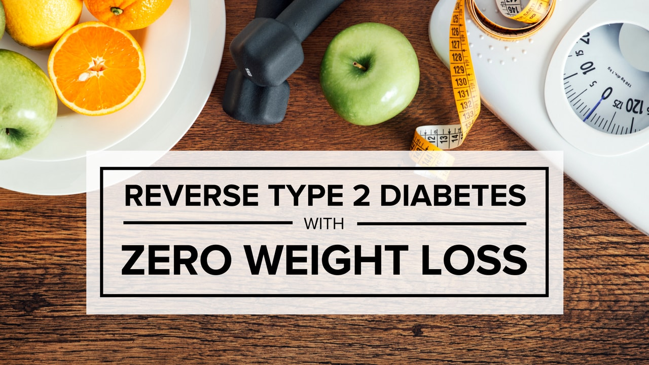 why does weight loss reverse diabetes
